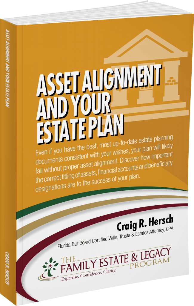 Asset Alignment and Your Estate Plan