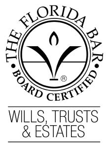 Florida Bar Board Certified Wills, Trusts Estates Attorney