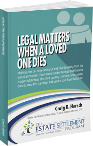 Legal Matters When a Loved One Dies