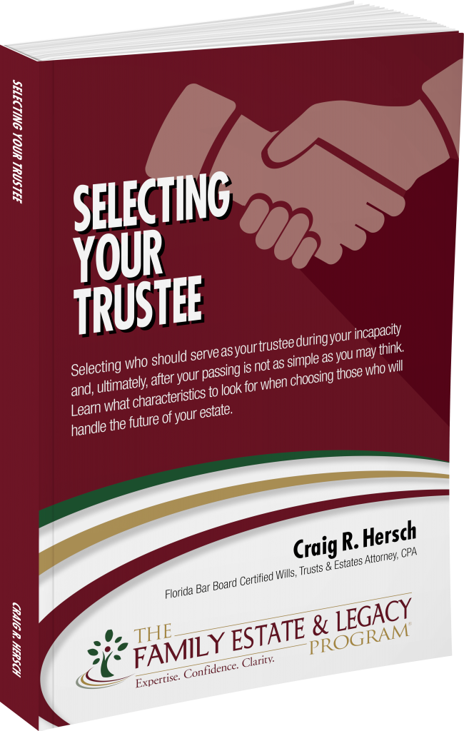 Selecting Your Trustee