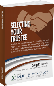 Selecting Your Trustee Book